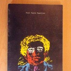 Libros de segunda mano: LAS CENIZAS DE GRAMSCI / PIER PAOLO PASOLINI / VISOR. 1975. Lote 178164901