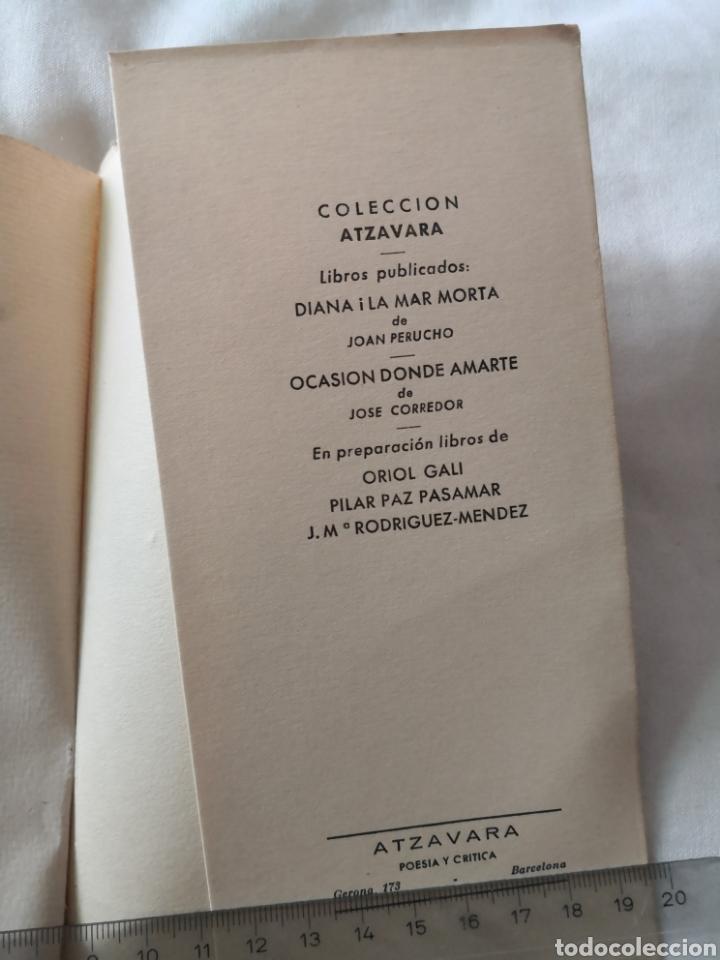 Libros de segunda mano: Libro de poesía. José Corredor. Ocasión donde Amarte. - Foto 4 - 178350286