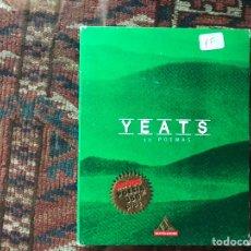 Libros de segunda mano: YEATS. 30 POEMAS.. Lote 178395977