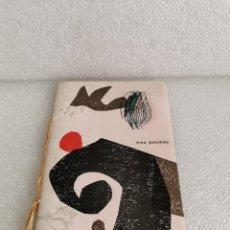 Libros de segunda mano: PLAQUETTE DE GIRALT MIRACLE 1964. TRES POEMAS. AL GRABADO DE LINÓLEO FILOGRAF VANGUARDIAS. Lote 178448610