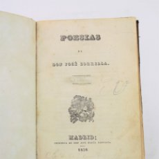 Libros de segunda mano: POESÍAS DE DON JOSÉ ZORRILLA, 1838, IMPR, JOSÉ MARIA REPULLÉS, MADRID. 18X12CM. Lote 178565855