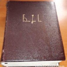 Libros de segunda mano: OBRAS COMPLETAS DE F. GARCÍA LORCA, PRÓLOGO JORGE GUILLÉN, EPÍLOGO VICENTE ALEIXANDRE, ED. AGUILAR. Lote 178805936
