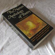 Libros de segunda mano: THE NORTON ANTHOLOGY OF POETRY 1970 , EN INGLÉS. Lote 179017277