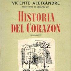 Libros de segunda mano: HISTORIA DEL CORAZÓN. Lote 179143121