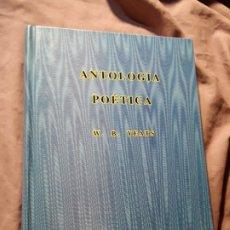 Libros de segunda mano: ANTOLOGÍA POÉTICA, DE W. B. YEATS. SIRUELA EL OJO SIN PÁRPADO. EXCELENTE ESTADO. SIN SOBRECUBIERTA.. Lote 180038492