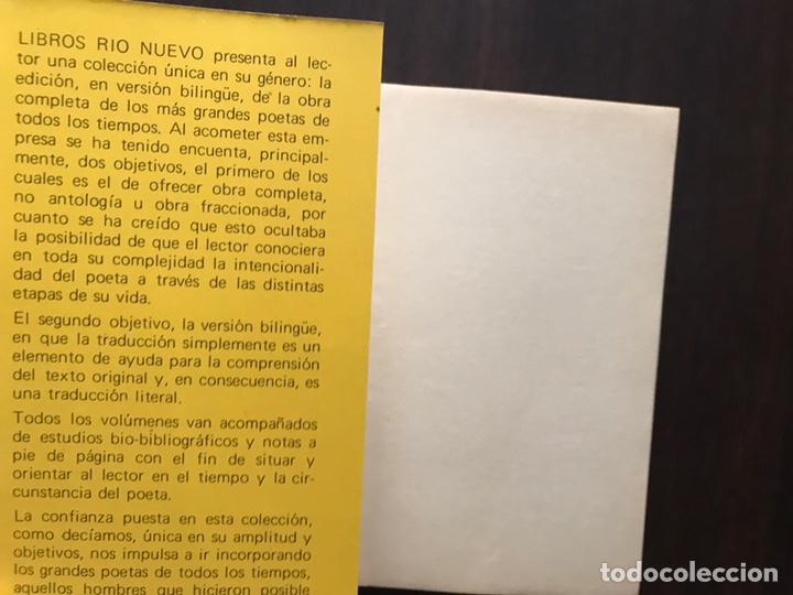 Libros de segunda mano: Rimbaud. Obra completa en verso y prosa. Edición bilingüe - Foto 3 - 180150915