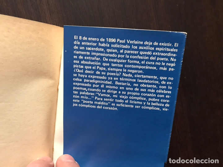 Libros de segunda mano: Verlaine. Obra poética completa. Edición bilingüe. Dos libros - Foto 10 - 180150982