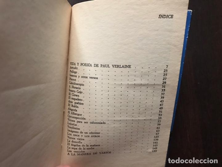 Libros de segunda mano: Verlaine. Obra poética completa. Edición bilingüe. Dos libros - Foto 11 - 180150982