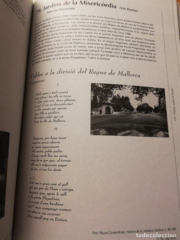 Libros de segunda mano: PALMA, CIUTAT DE POESIA (GASPAR VALERO I MARTÍ / M. PILAR LÓPEZ I SASTRE) AJUNTAMENT DE PALMA - Foto 5 - 180179856