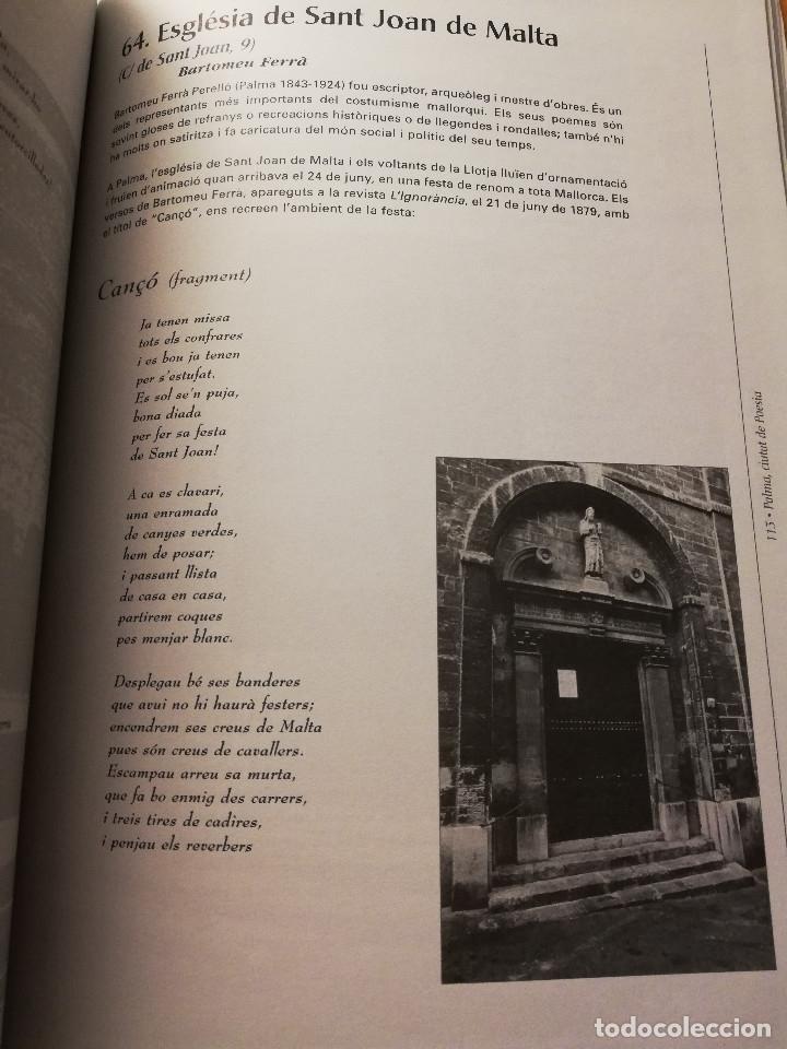 Libros de segunda mano: PALMA, CIUTAT DE POESIA (GASPAR VALERO I MARTÍ / M. PILAR LÓPEZ I SASTRE) AJUNTAMENT DE PALMA - Foto 6 - 180179856
