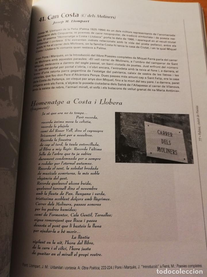 Libros de segunda mano: PALMA, CIUTAT DE POESIA (GASPAR VALERO I MARTÍ / M. PILAR LÓPEZ I SASTRE) AJUNTAMENT DE PALMA - Foto 8 - 180179856