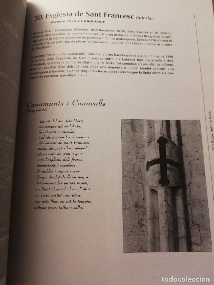 Libros de segunda mano: PALMA, CIUTAT DE POESIA (GASPAR VALERO I MARTÍ / M. PILAR LÓPEZ I SASTRE) AJUNTAMENT DE PALMA - Foto 9 - 180179856