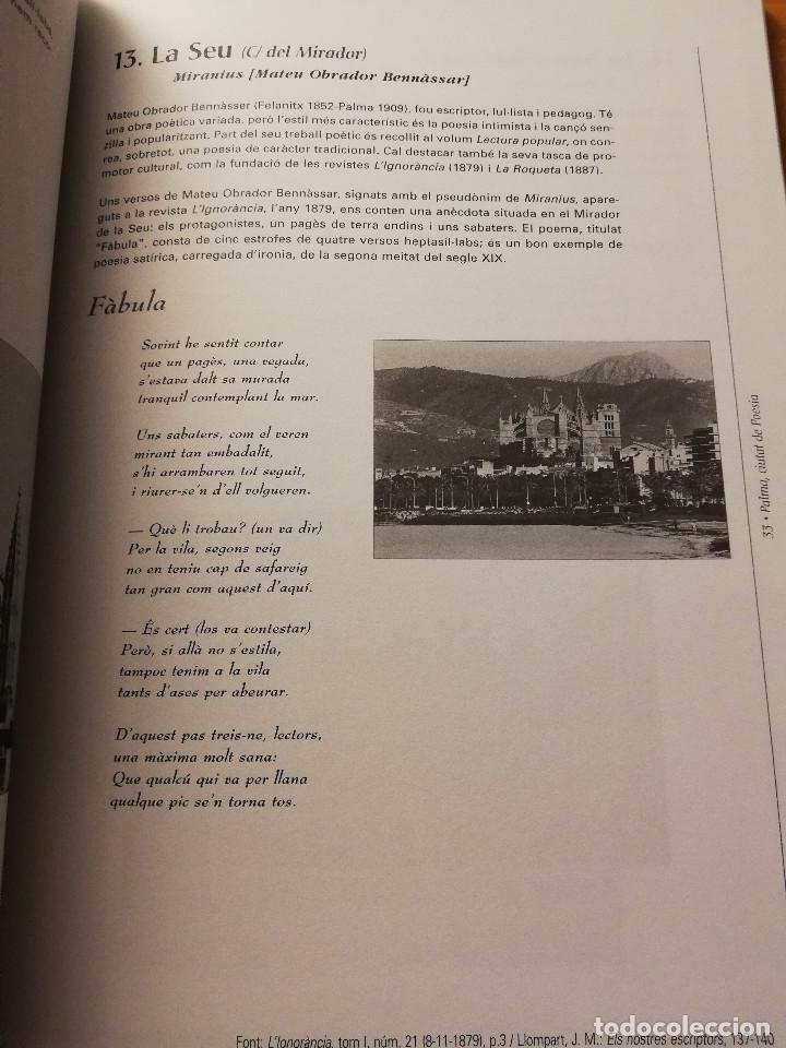 Libros de segunda mano: PALMA, CIUTAT DE POESIA (GASPAR VALERO I MARTÍ / M. PILAR LÓPEZ I SASTRE) AJUNTAMENT DE PALMA - Foto 10 - 180179856