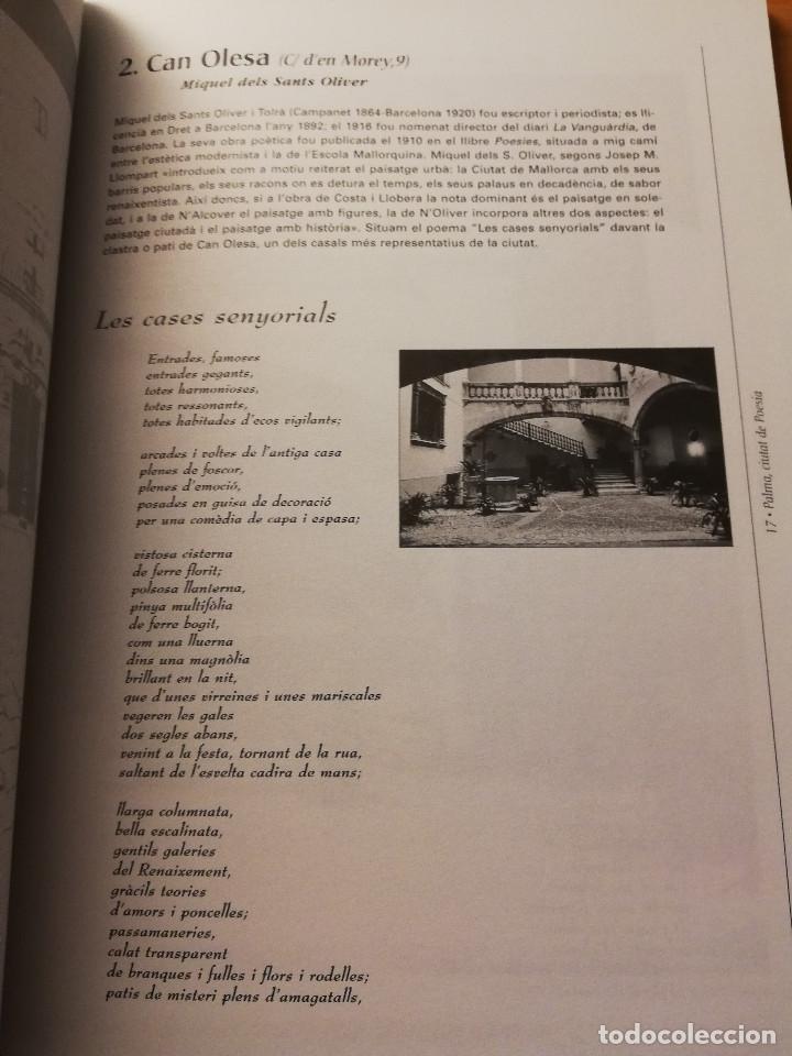 Libros de segunda mano: PALMA, CIUTAT DE POESIA (GASPAR VALERO I MARTÍ / M. PILAR LÓPEZ I SASTRE) AJUNTAMENT DE PALMA - Foto 12 - 180179856