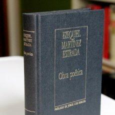 Libros de segunda mano: EZEQUIEL MARTÍNEZ ESTRADA - OBRA POÉTICA - ORBIS BIBLIOTECA JORGE LUIS BORGES. Lote 180441763