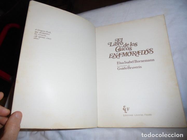 Libros de segunda mano: EL LIBRO DE LOS CHICOS ENAMORADOS(POEMAS DE AMOR PARA NIÑOS).ELSA ISABEL BORNEMANN.ILUSTRACIONES GUI - Foto 3 - 181134678