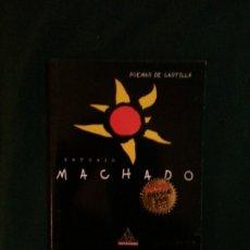 Libros de segunda mano: POEMAS DE CASTILLA - ANTONIO MACHADO. Lote 181135450