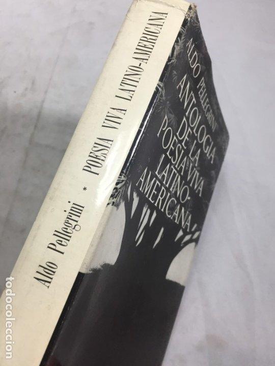 Libros de segunda mano: ANTOLOGÍA DE LA POESÍA VIVA LATINOAMERICANA ALDO PELLEGRINI 1966 SEIX BARRAL - Foto 2 - 181592213