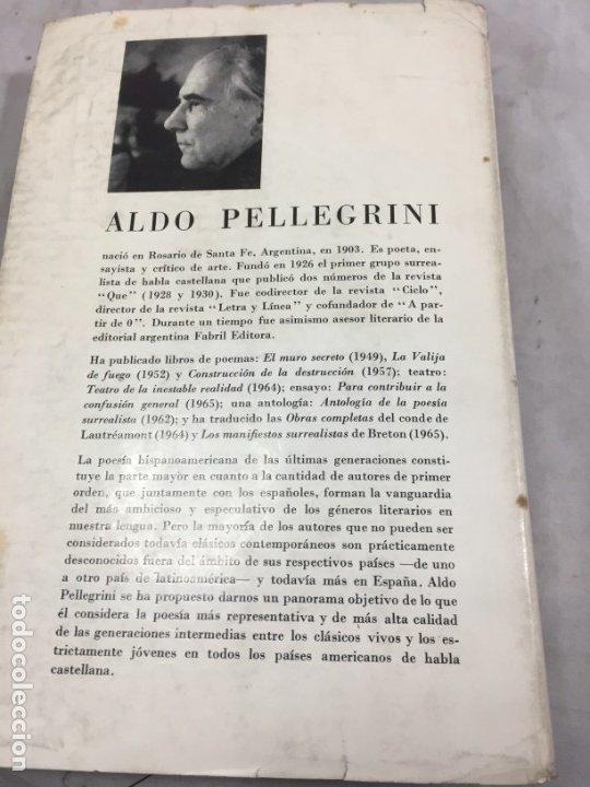 Libros de segunda mano: ANTOLOGÍA DE LA POESÍA VIVA LATINOAMERICANA ALDO PELLEGRINI 1966 SEIX BARRAL - Foto 8 - 181592213