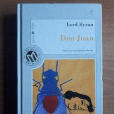 Libros de segunda mano: DON JUAN. LORD BYRON. Lote 182082210