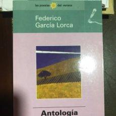 Libros de segunda mano: FEDERICO GARCIA LORCA. ANTOLOGÍA POÉTICA.. Lote 182111947