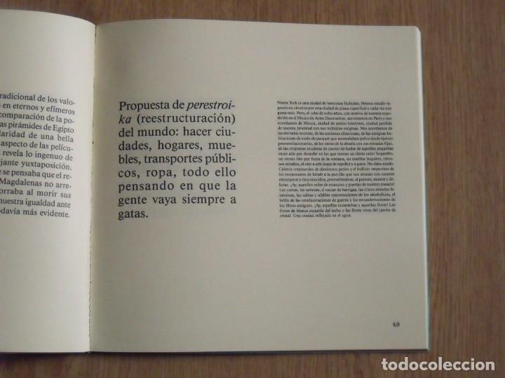 Libros de segunda mano: Poemas sobre la muerte. Komar and Melamid. El fantasma del eclecticismo. René Metras. 1988. - Foto 2 - 182516593