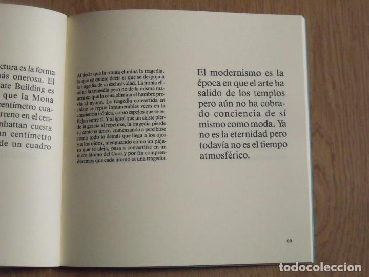 Libros de segunda mano: Poemas sobre la muerte. Komar and Melamid. El fantasma del eclecticismo. René Metras. 1988. - Foto 3 - 182516593