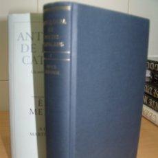Libros de segunda mano: ANTOLOGIA DE POETES CATALANS I EPOCA MEDIEVAL, GALAXIA GUTENBERG, 1997. Lote 182665067