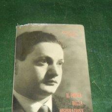 Libros de segunda mano: IL POEMA DELLA DISPÈRAZIONE, DE RAFFAELLO BERTOLI - ED.NUMERADA 67 - 1959 CON DEDICATORIA DEL AUTOR. Lote 182979615