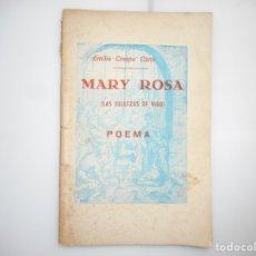Libros de segunda mano: EMILIO CRESPO CANO MARY ROSA(LAS BELLEZAS DE VIGO) Y97007. Lote 183087622