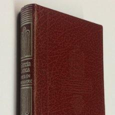 Libros de segunda mano: AÑO 1986 - FEDERICO GARCÍA LORCA - POETA EN NUEVA YORK - AGUILAR COLECCIÓN CRISOLÍN Nº 49. Lote 183178557