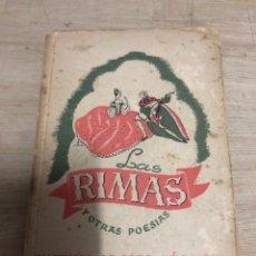 Libros de segunda mano: LAS RIMAS. Lote 183767380
