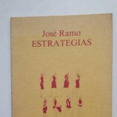 Libros de segunda mano: ESTRATEGIAS - JOSÉ RAMO. LA TORRE DE LOS PANORAMAS. CUADERNOS DE POESIA LOGROÑO 1981. TDK364. Lote 183905477