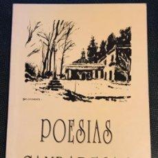 Libros de segunda mano: POESIAS CAMBADESAS RECOMPILACION DAS POESIAS POETAS GALICIA CAMBADOS PONTEVEDRA POESIAS POPULARES . Lote 184073190