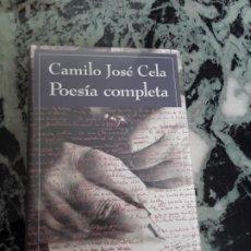 Libros de segunda mano: POESIA COMPLETA, DE CAMILO JOSÉ CELA. NUEVO, PRECINTADO. TAPA DURA. GALAXIA GUTENBERG.. Lote 184490751