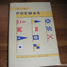 Livres d'occasion: POEMAS.- CARLES PUJOL.- LA VELETE, COMARES 2007,. Lote 186005727