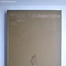 Libros de segunda mano: BREVE ANTOLOGIA DE ELOGIOS POETICOS A BARCELONA. Lote 186229123