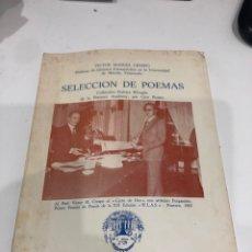 Libros de segunda mano: SELECCIÓN DE POEMAS. Lote 186361582