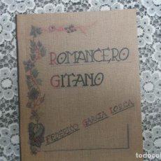Libros de segunda mano: ROMANCERO GITANO - FEDERICO GARCÍA LORCA - EDICIÓN FACSÍMIL 2008. Lote 188789168