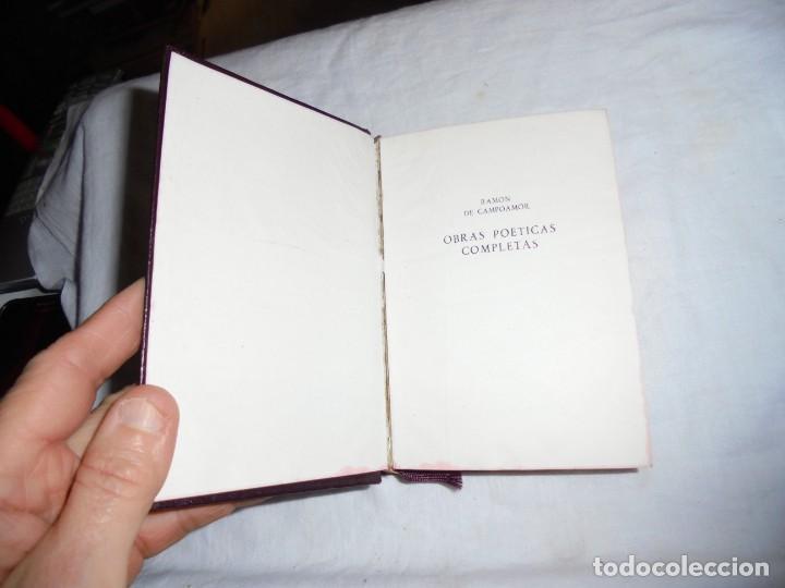Libros de segunda mano: CAMPOAMOR OBRAS POETICAS COMPLETAS.EDICIONES AGUILAR MADRID 1951.6ª EDICION.ESTUDIO PRELIMINAR DE - Foto 5 - 189386766