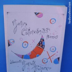 Libros de segunda mano: POEMES . DIBUIXOS.-JOAN COLOMINAS. (POEMAS) / JORDI TRAPERO (DIBUIXOS). Lote 189476965