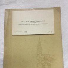 Libros de segunda mano: POEMA DEL CASCO VIEJO - 1973 - ESTEBAN CALLE ITURRINO - INCLUYE TARJETA DE VISITA DEL AUTOR -. Lote 190913510
