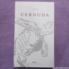 Libros de segunda mano: LUIS CERNUDA - COLECCIÓN DE POESÍA EL PAÍS. Lote 190990280