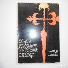 Libros de segunda mano: VV.AA OS XOGOS FRORAES NA GALIZA Y98022 . Lote 191056758