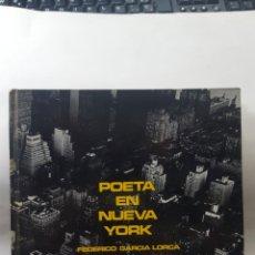 Libros de segunda mano: POETA EN NUEVA YORK - FEDERICO GARCÍA LORCA. FOTOGRAFÍAS DE MASPONS+UBIÑA (LUMEN, 1966) 1ª EDICION. Lote 191472888