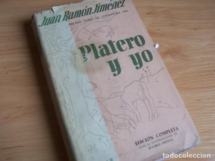 PLATERO Y YO, JUAN RAMON JIMENEZ (AGUILAR 1956) ILUSTRACIONES DE RAFAEL ALVAREZ ORTEGA (Libros de Segunda Mano (posteriores a 1936) - Literatura - Poesía)