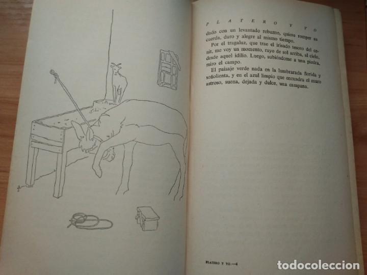 Libros de segunda mano: Platero y yo, Juan Ramon Jimenez (Aguilar 1956) Ilustraciones de Rafael Alvarez Ortega - Foto 2 - 192028387
