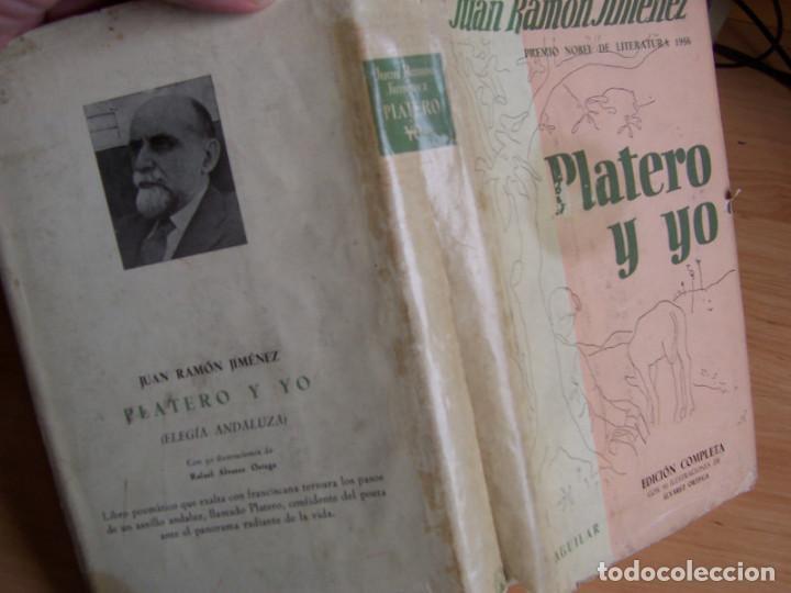 Libros de segunda mano: Platero y yo, Juan Ramon Jimenez (Aguilar 1956) Ilustraciones de Rafael Alvarez Ortega - Foto 3 - 192028387