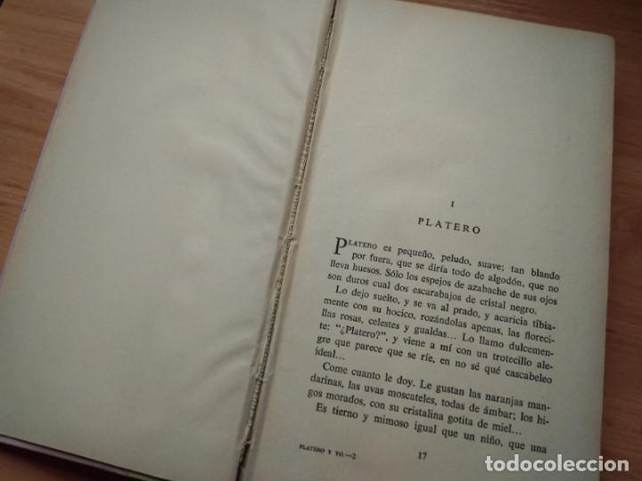 Libros de segunda mano: Platero y yo, Juan Ramon Jimenez (Aguilar 1956) Ilustraciones de Rafael Alvarez Ortega - Foto 4 - 192028387