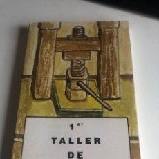 Libros de segunda mano: 1 ER TALLER DE POESIA. Lote 192343642